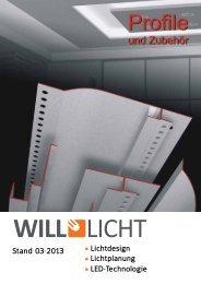 LED Trockenbau Profile Stand 03-2013