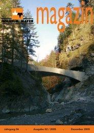 Jahrgang 06 . Ausgabe 02 / 2005 . Dezember 2005