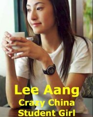 Lee Aang Crazy China Studentin Girl
