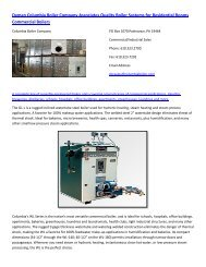 Dyman Columbia Boiler Company Associates Quality Boiler Systems for Residential Rooms.pdf