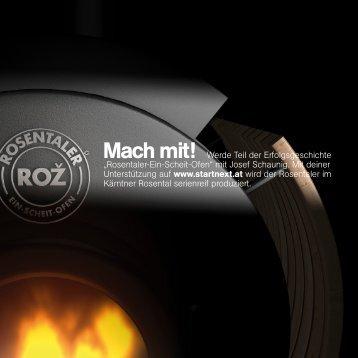 Rosentaler Ein-Scheit-Ofen