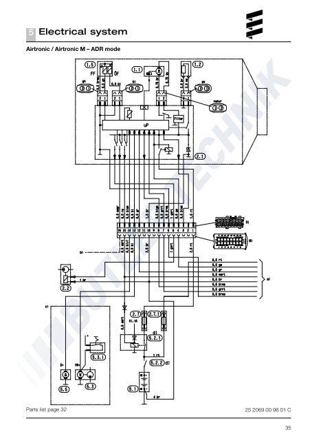 Eberspacher AIRTRONIC M Инструкция