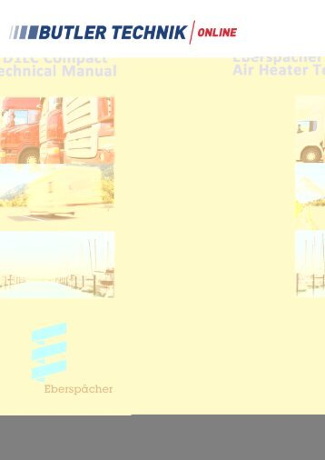 Eberspacher airtronic d4 Service Manual