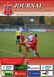 FFC-journal, Heft 10, FC Bötzingen