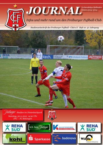 FFC-journal, Heft 10, FC Bötzingen