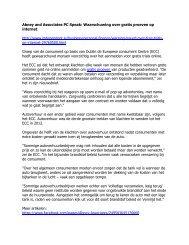 Abney and Associates PC Speak: Waarschuwing over gratis proeven op internet