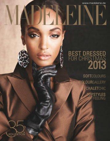 Madeleine Best Dressed 2013