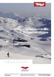 Erfolgreich (wieder) in den Skisport einsteigen! tirol