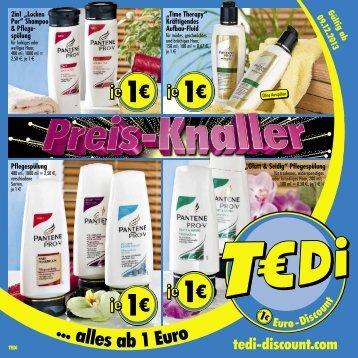 TEDi - Preis Knaller - 09.12.2013 - DE