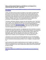 Abney and Associates PC Speak over UK Malware overtuiging Act as waarschuwing voor Internet – gebruikers