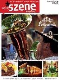 Stadtmagazin Neue Szene Augsburg 2012-06