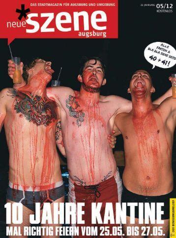 Stadtmagazin Neue Szene Augsburg 2012-05