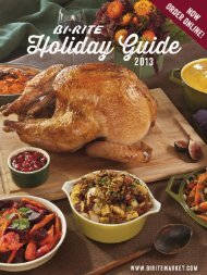 BiRite Holiday Guide 2013