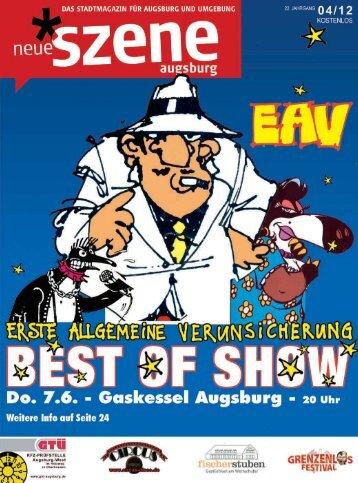 Stadtmagazin Neue Szene Augsburg 2012-04