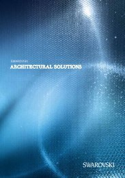 Swarovski Architectural Solutions