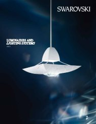 Swarovski Luminaires and Lighting Systems
