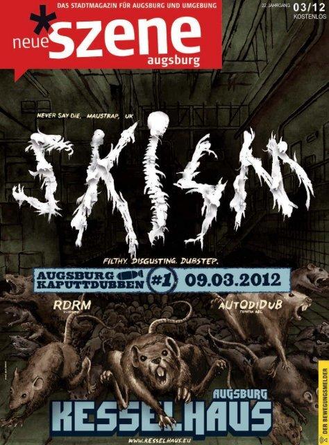Stadtmagazin Neue Szene Augsburg 2012-03