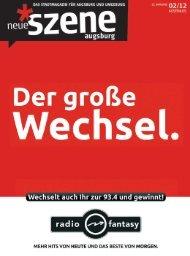 Stadtmagazin Neue Szene Augsburg 2012-02