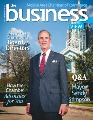 The Business View December