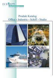 Produkt Katalog Office Industrie Schiff Studio - Eckmann Spezialkabel GmbH