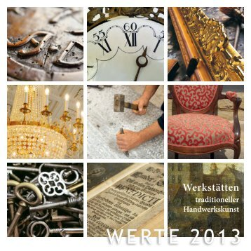 WERTE 2013 - Kurfürstliches Schloss Koblenz - Ausstellungskatalog