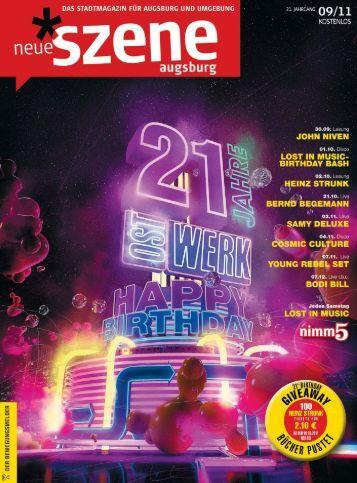 Stadtmagazin Neue Szene Augsburg 2011-09