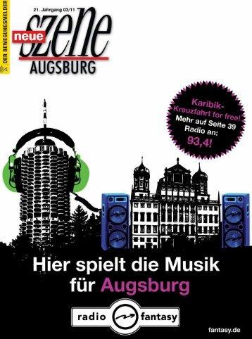Stadtmagazin Neue Szene Augsburg 2011-03