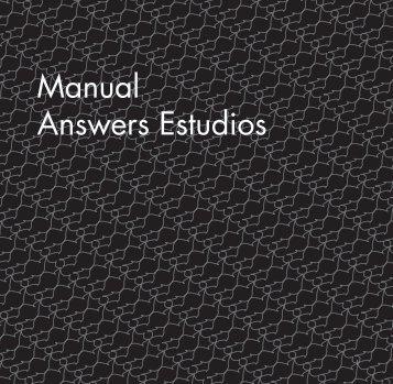 Manual Answers Estudios