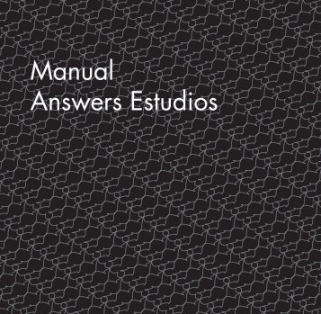 Manual Answers Estudios