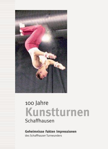 """Jubiläumsbuch """"100 Jahre Kunstturnen Schaffhausen"""""""