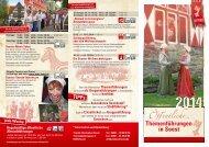 Öffentliche Themenführungen Soest 2014
