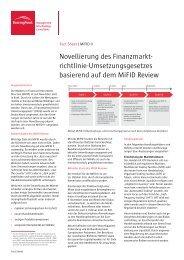 richtlinie-Umsetzungsgesetzes basierend auf dem ... - BearingPoint