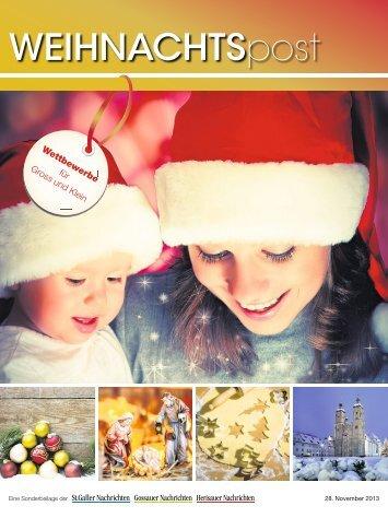 Weihnachtspost 2013