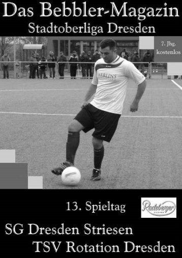 Das Bebbler-Magazin - 13. Spieltag