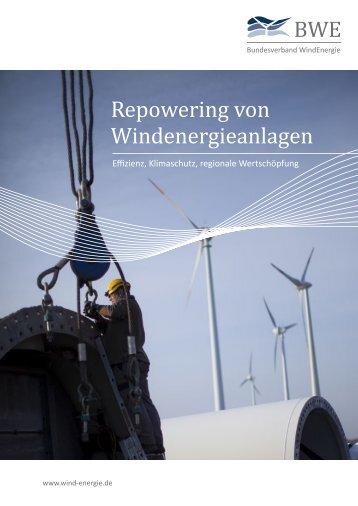 Repowering von Windenergieanlagen