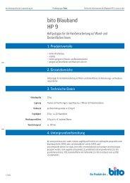 bito Blauband HP 9 - Bito AG