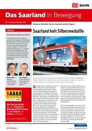 Das Saarland in Bewegung 1/2014