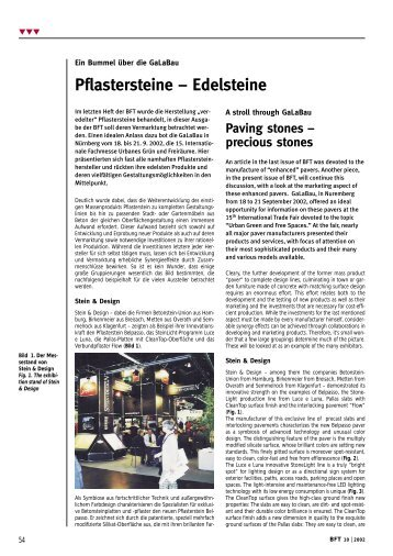 Paving stones - Bauverlag