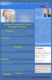 Psychiatric Treatment for Extreme Personality Treatment