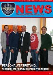 Polizei News 4_2013 Salzburg Klubmagazin der Exekutive - FSG