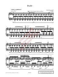 Klaviersatz, Petrushka 2012, Eine Auswahl