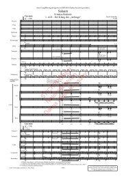 E. Schneider: Salaam, Frieden-Sinfonie für Soli (SATB), Chor und Orchester