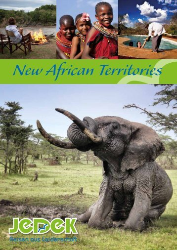 Afrika individuell erleben: New African Territories Lodges