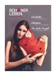 SCHÖNER LEBEN Kundenmagazin Ausgabe 2