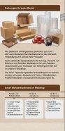 Kartonagen, Verpackungszubehör & innovative Produkte aus Wellpappe - Seite 2