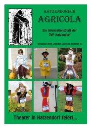 Hatzendorfer Agricola Ausgabe Nr. 46