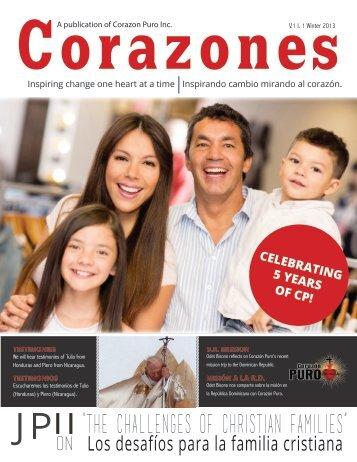 Corazones: Winter 2013