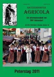 Hatzendorfer Agricola Ausgabe Nr. 56