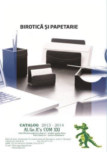 Catalog Algers 2013-2014