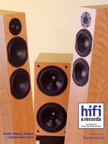Der Tempo - Audio Physic